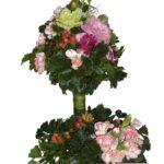 Flower Garden Basket close