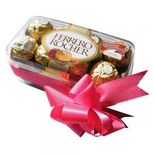 Ferrero Rocher Chocolates in a box