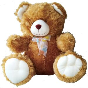 Cute traditional brown Teddy Bear approximately 40cm high