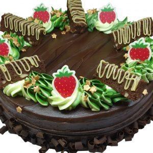 Chocolate Cake, 2 Pound, close up