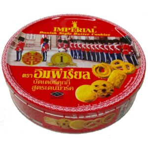 Imperial Butter Cookies 500g Tin