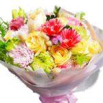 Bright Mixed Bouquet close